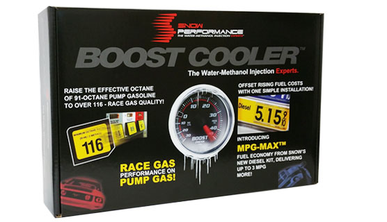 Boost Cooler Water Injection - Scope of delivery