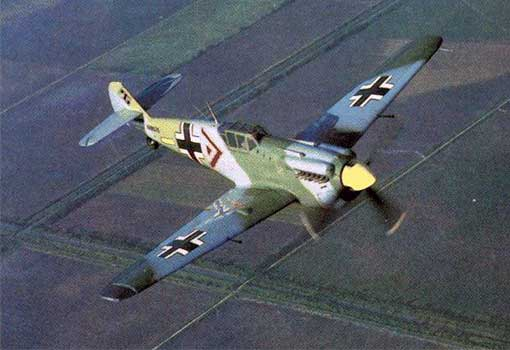Messerschmitt BF-109 using Water-/Methanol Injection